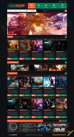 Шаблон GameStore для uCoz